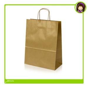 bolsas de papel satinado