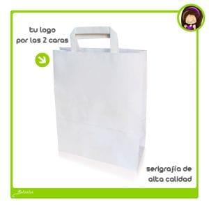 Bolsas de papel impresas en oferta