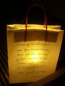 bolsas con luz