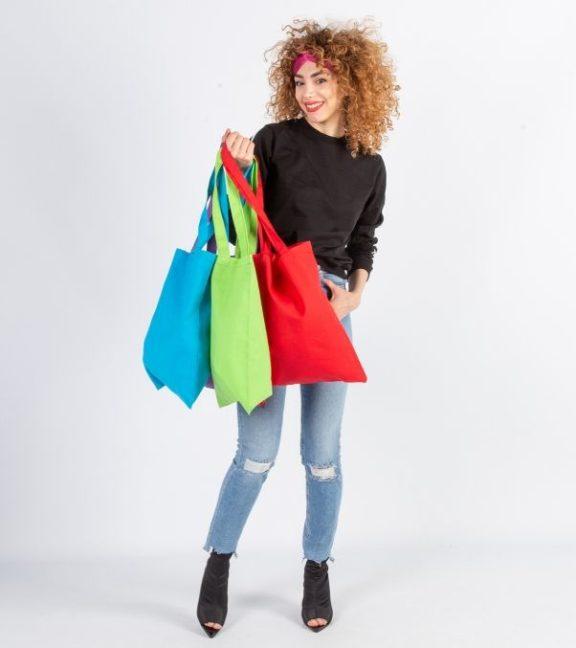 Comprar bolsa de algodón grande