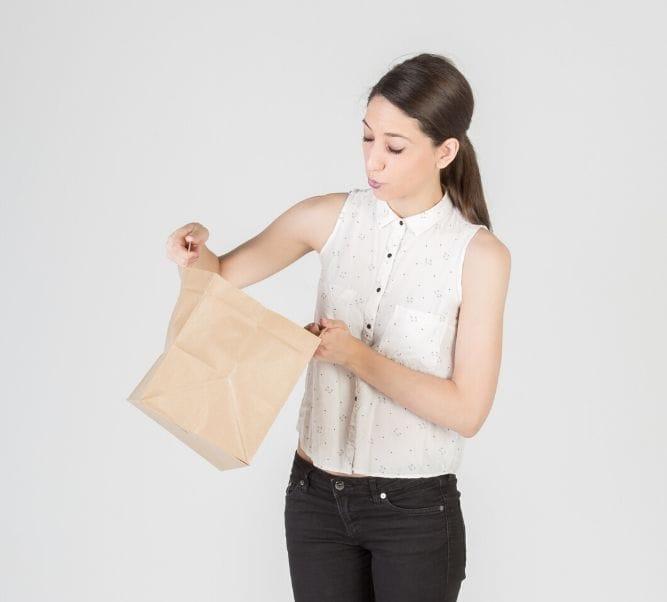 Dónde comprar bolsa de papel para comida