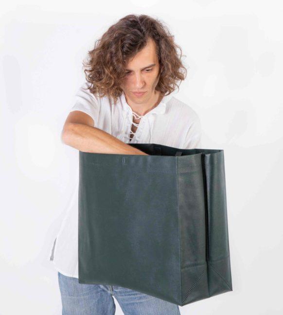 Elegir una bolsa de tela take away