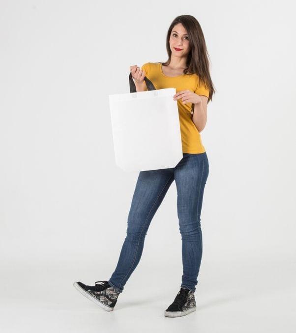 Bolsas tela plastificada personalizadas comprar