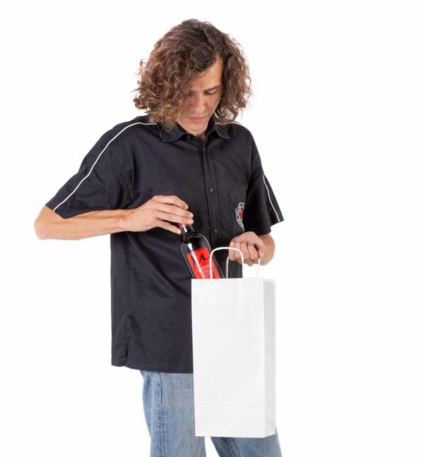 Bolsas para botellas pequeñas