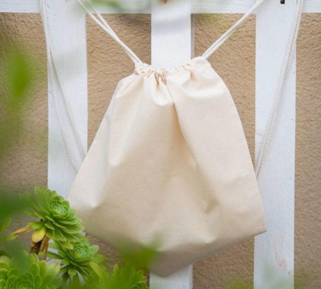 Mochilas de algodón