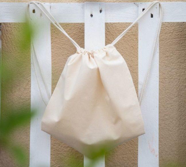 Bolsas de algodón orgánico a medida