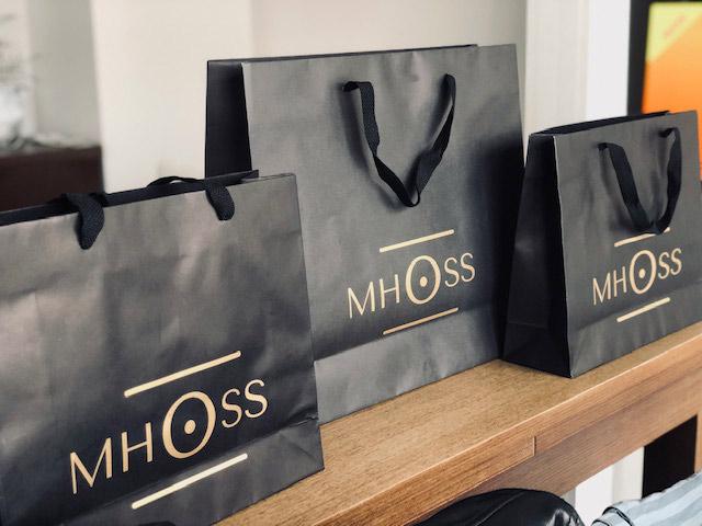 Bolsas de lujo para tiendas impresas