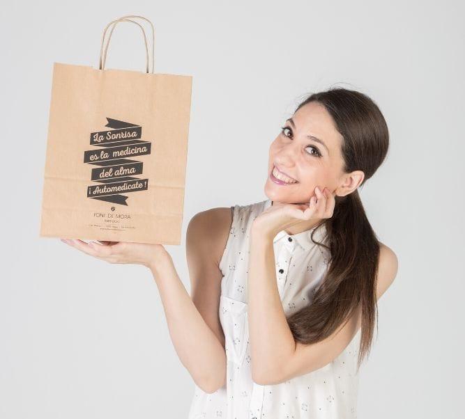 Comprar bolsas impresas al por mayor