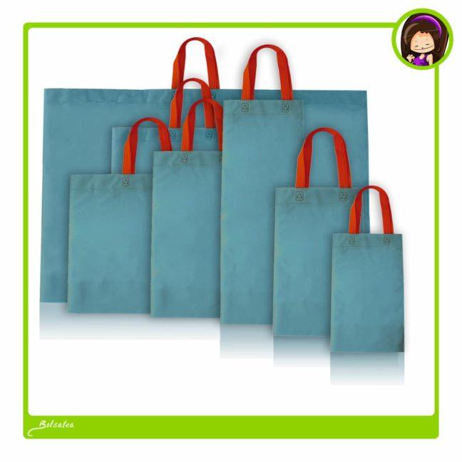 Bolsas de tela con asa larga