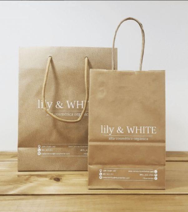 Comprar bolsas de papel de colores