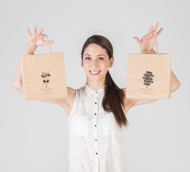 Comprar bolsas impresas baratas