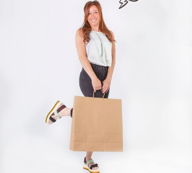 Comprar bolsas papel kraft grandes
