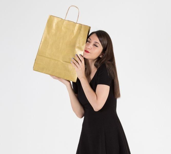Comprar bolsa metalizada para regalo