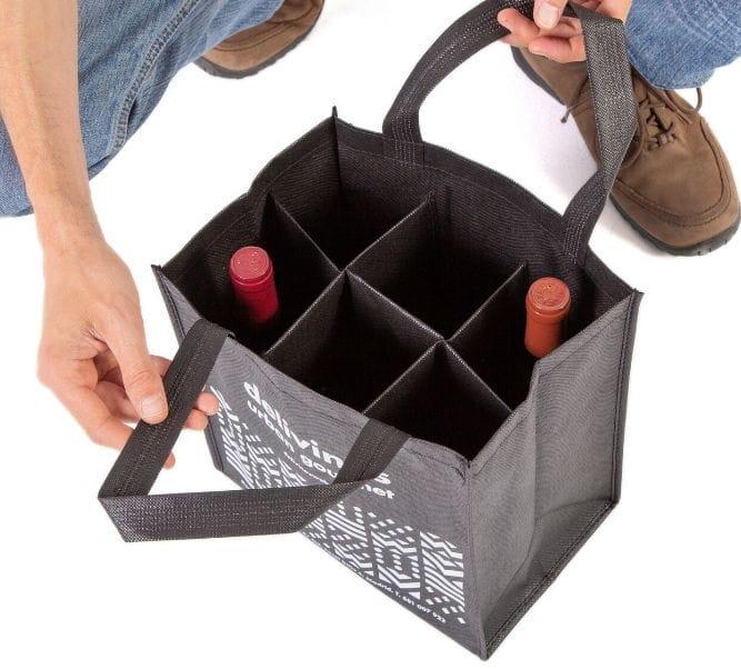 Packaging para botellas de vino