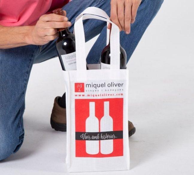 Bolsas para botellas de vino al por mayor