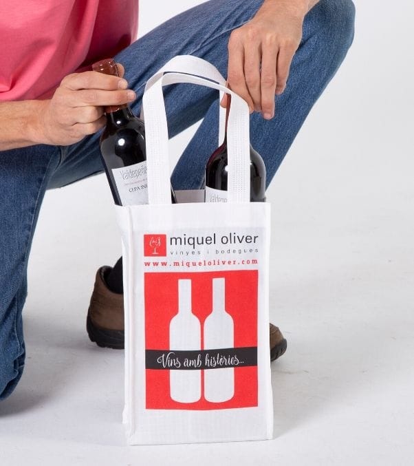 Venta de bolsas para botellas