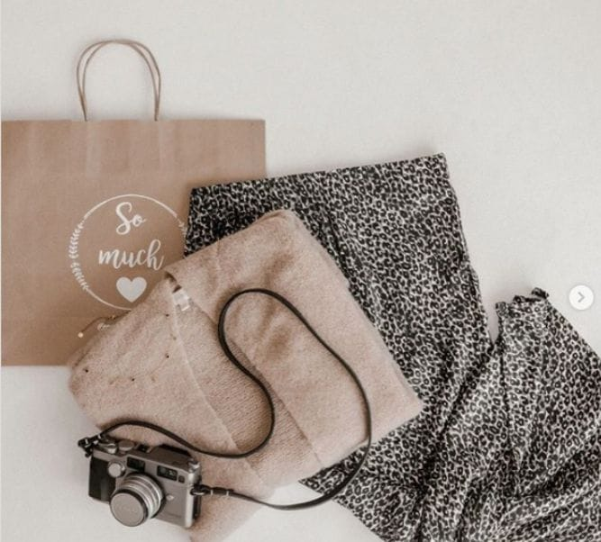 Bolsas para tiendas de papel