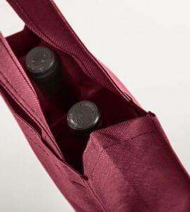 Bolsas para portar 2 botellas