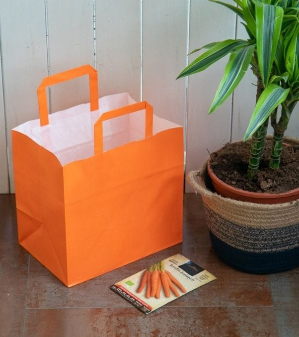 Bolsas baratas para tiendas para introducir comida