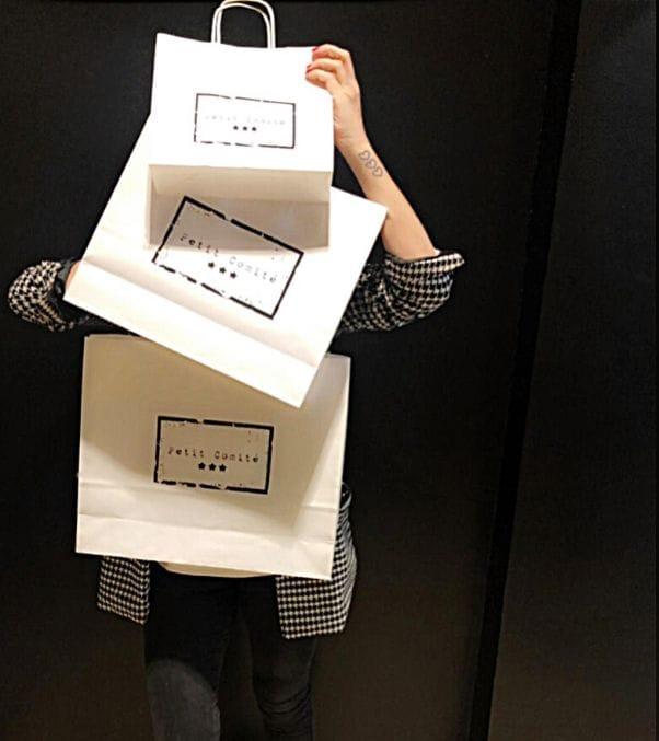 Bolsas para tiendas impresas