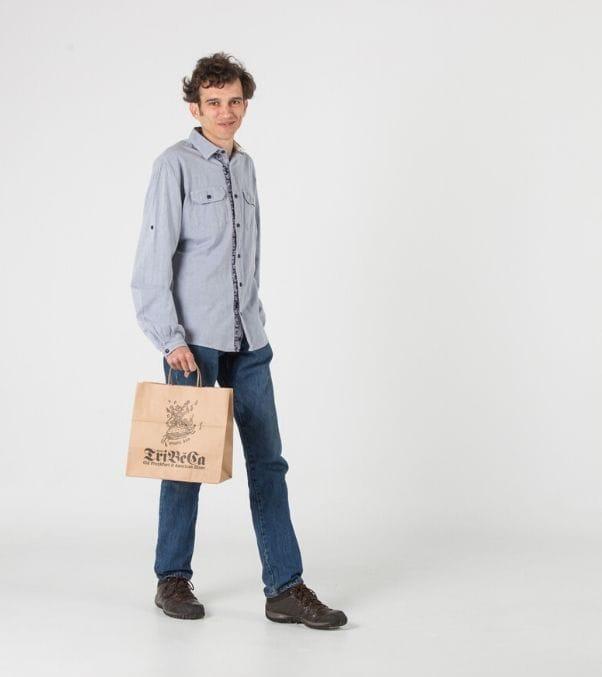 Bolsas impresas para alimentos
