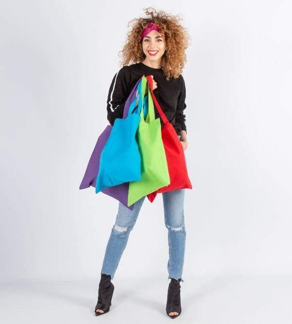 Bolsas de algodón impresas con logo