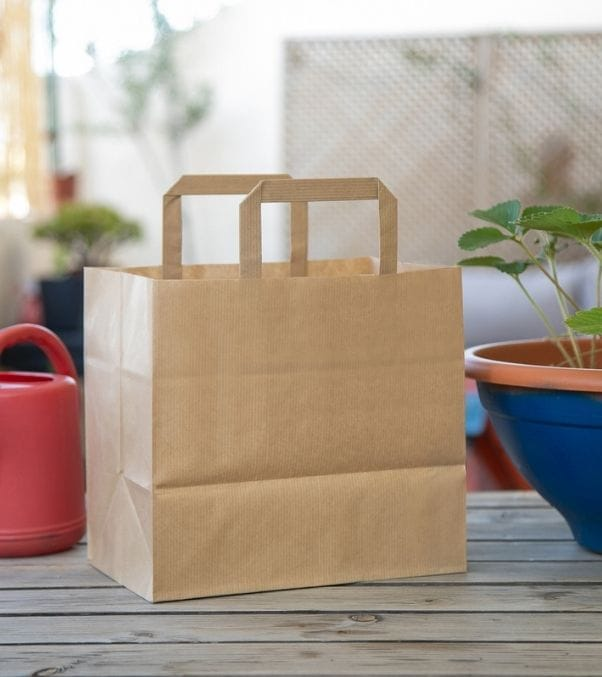 Bolsas baratas para tiendas take away