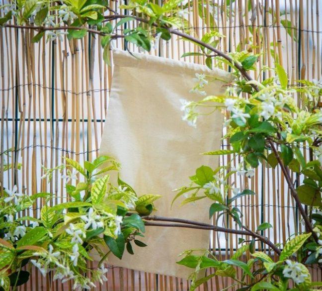 Bolsas de algodón orgánico al por mayor