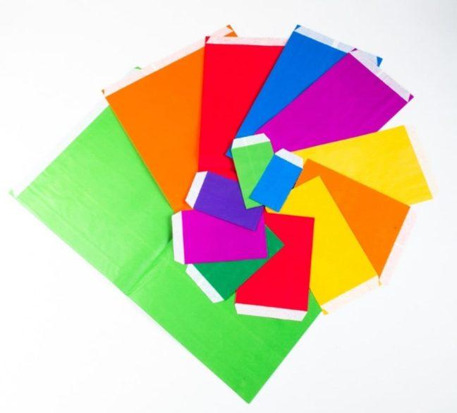 Sobre de color
