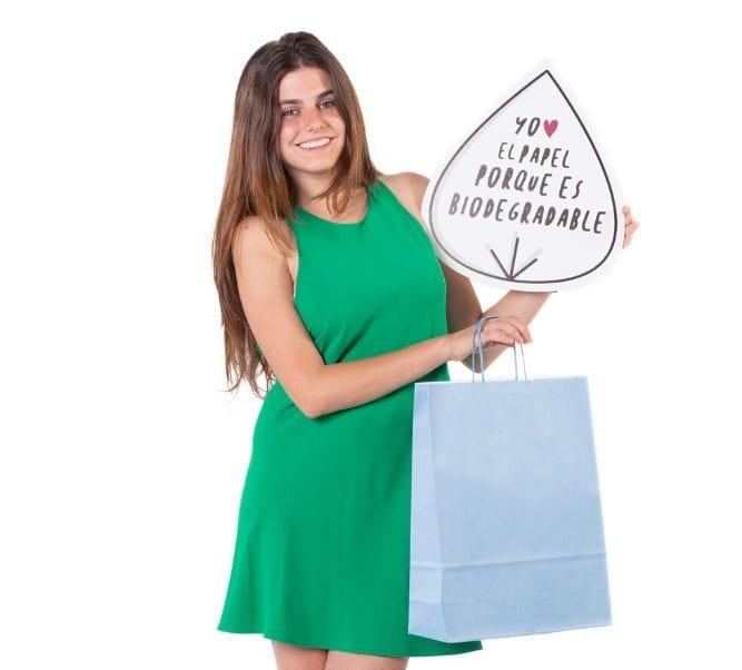 Bolsas ecológicas para tiendas