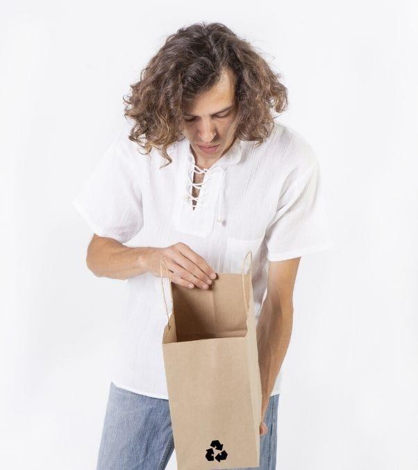 Packaging reutilizable de papel