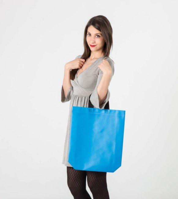 Conseguir bolsas con acabado plastificado