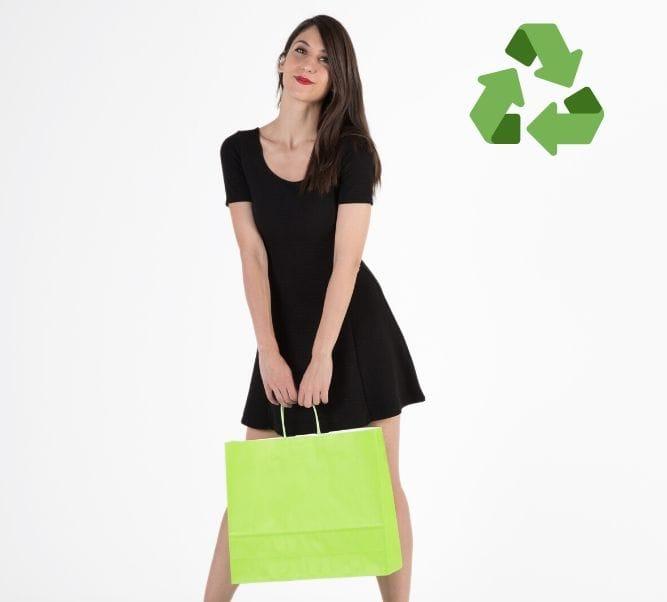 Bolsas de papel reciclado para alimentos