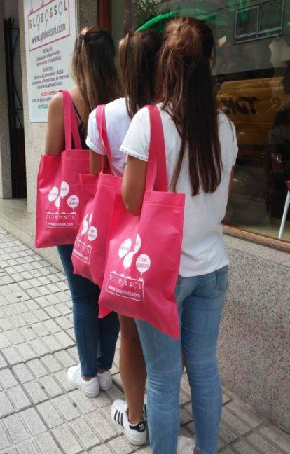 Comprar bolsas de tela por mayor para tiendas
