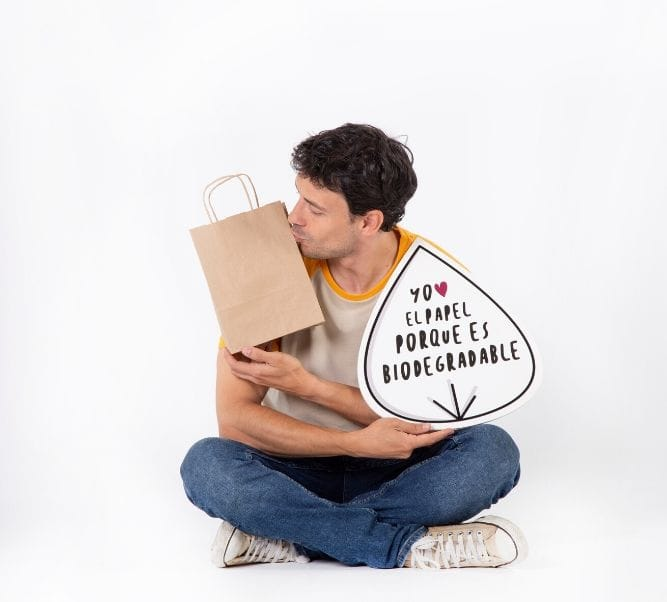 Venta de bolsas papel kraft online