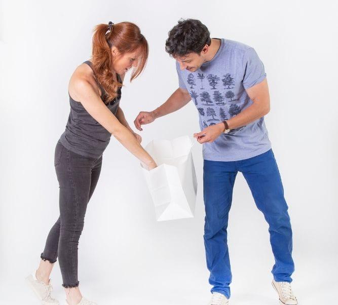 Bolsas de papel para restaurantes