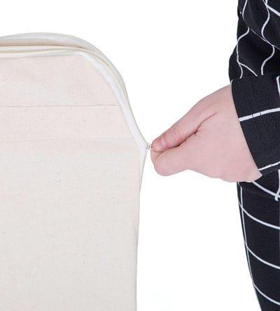 Fundas para trajes con cierre de cremallera