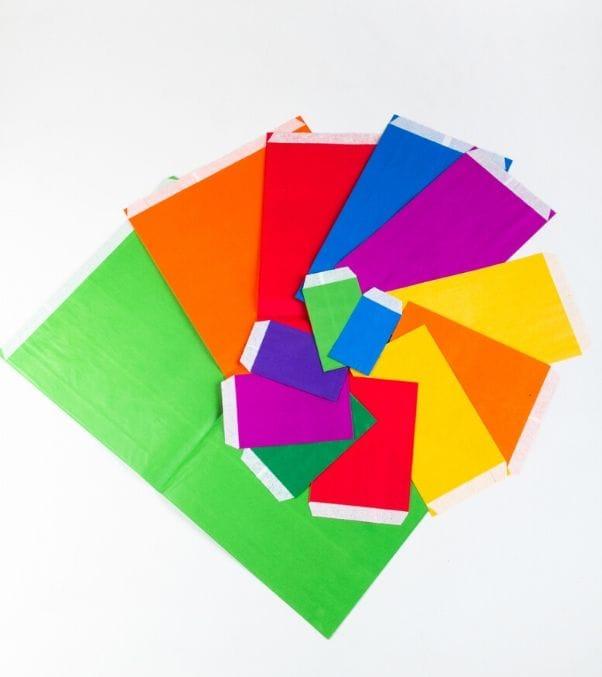 Sobres de papel para regalos