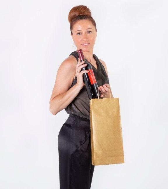 Comprar bolsa de tela para botellas
