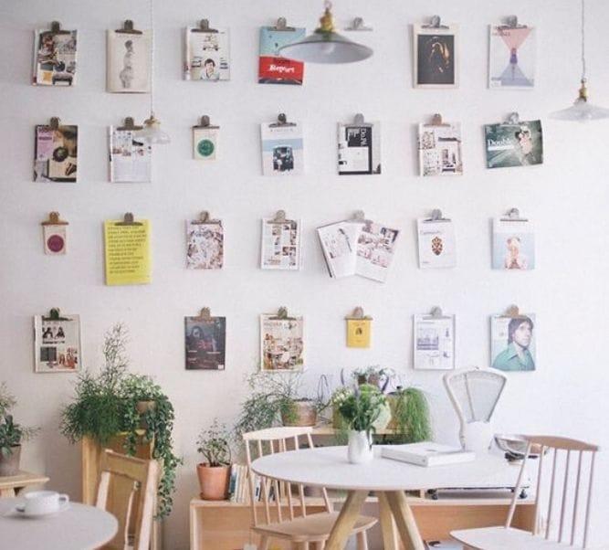 paredes decoradas con fotos