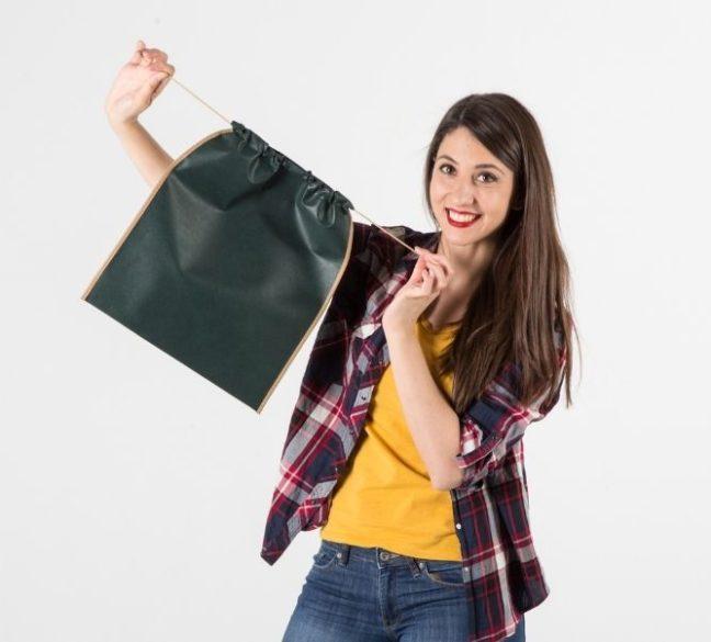 Venta de bolsas de tela para el colegio