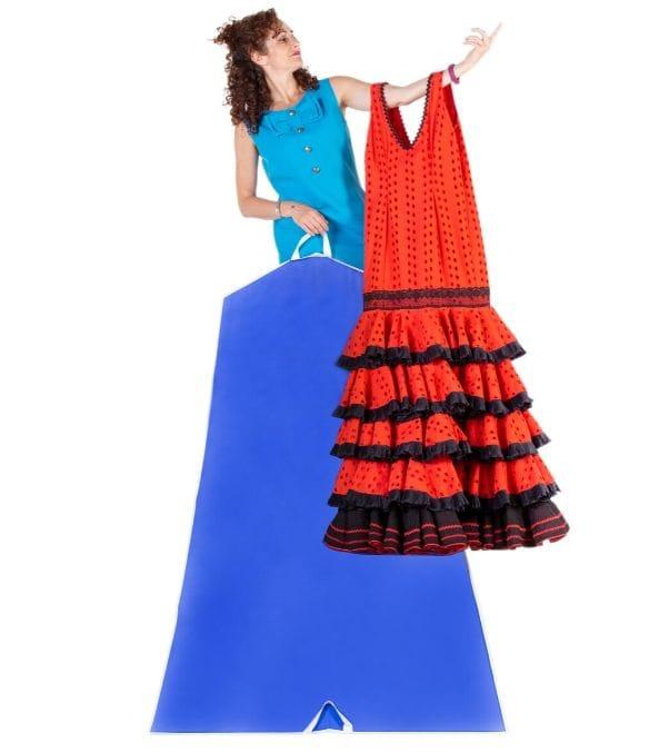 Funda para traje de flamenca
