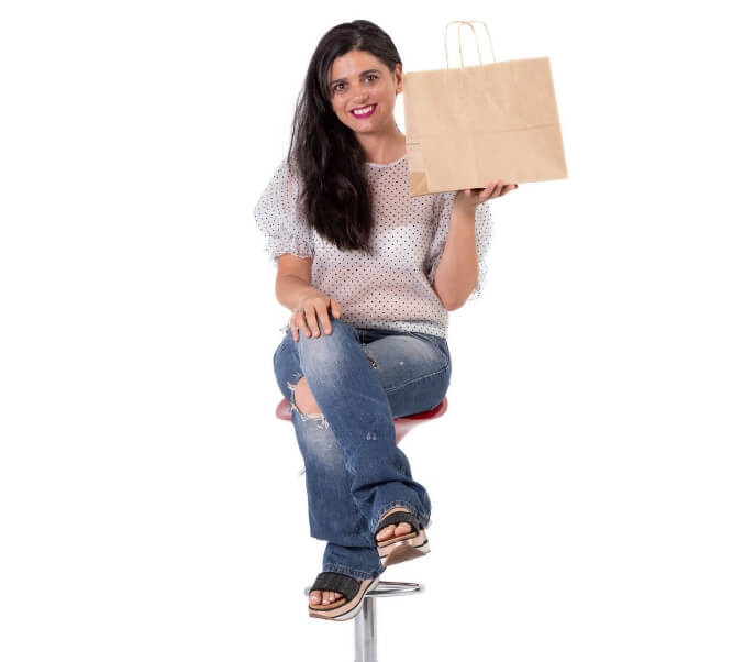 Packaging económico de bolsas