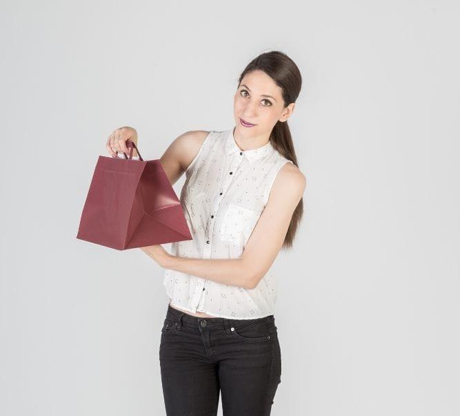Venta de bolsas take away de papel