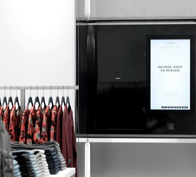 Gestión robotizada en tiendas de Zara