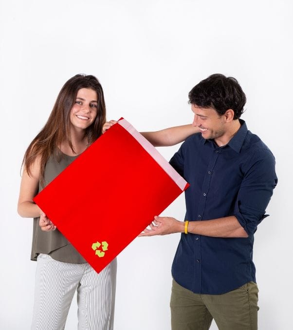 Sobres de papel de regalo