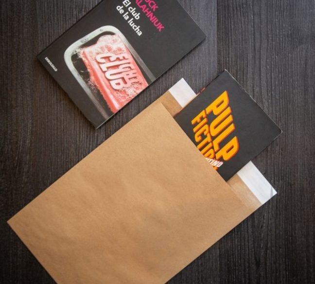 Comprar sobres de papel kraft con cierre