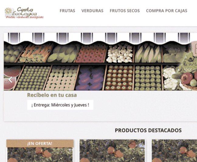 Tiendas de frutas y verduras online