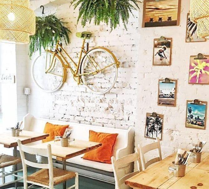 Bici decoración de paredes
