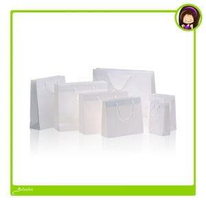 bolsas con papel verjurado